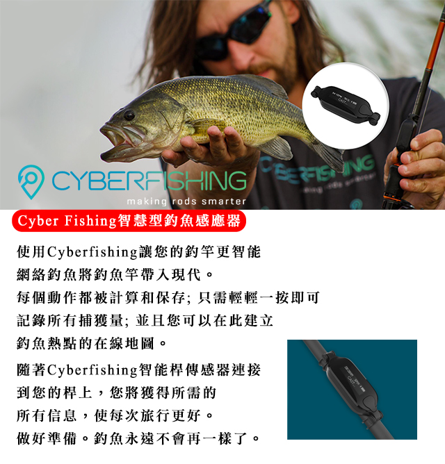 CYBER FISHING智慧型釣魚感應器