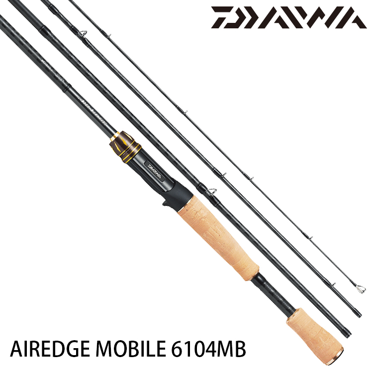 DAIWA AIREDGE MOBILE 6104MB [淡水路亞旅竿]