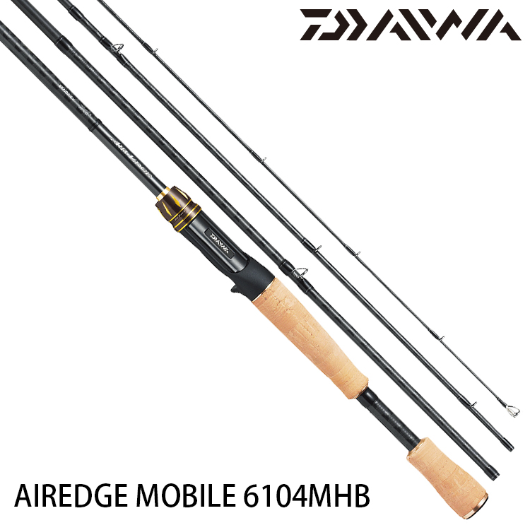 DAIWA AIREDGE MOBILE 6104MHB [淡水路亞旅竿]