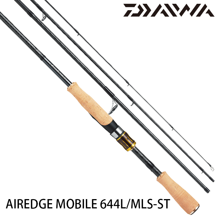 DAIWA AIREDGE MOBILE 664LMLS-ST [淡水路亞旅竿]