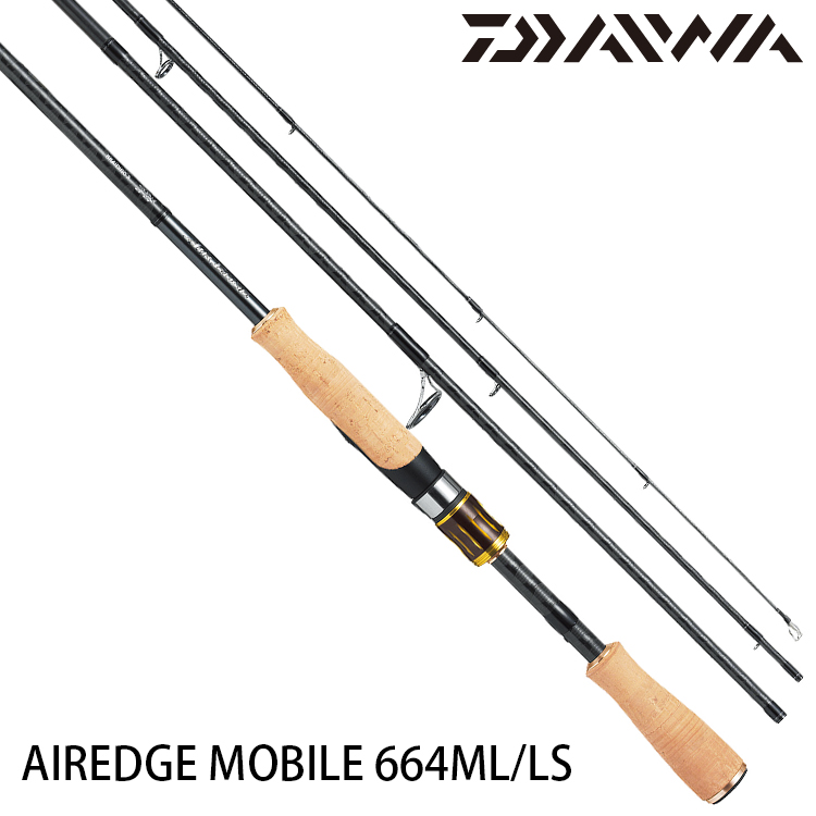DAIWA AIREDGE MOBILE 664ML/LS [淡水路亞旅竿]