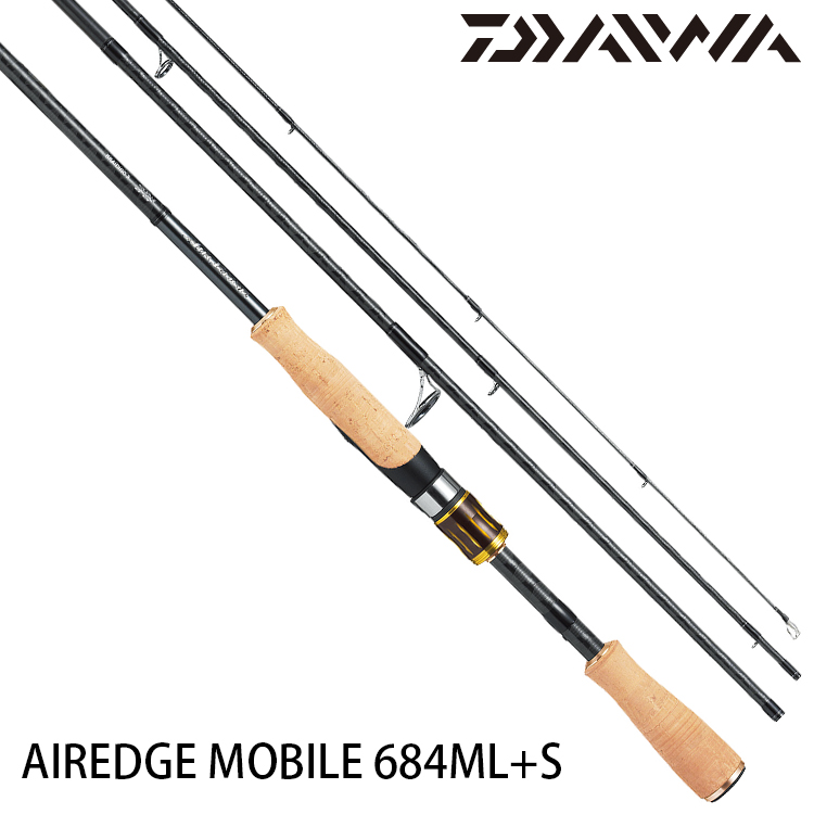 DAIWA AIREDGE MOBILE 684ML+S [淡水路亞旅竿]