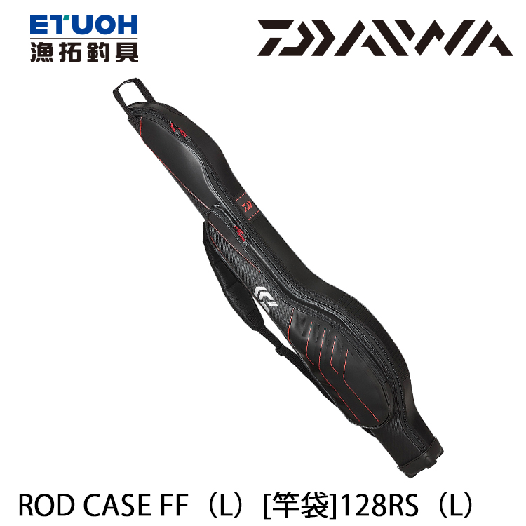 DAIWA ROD CASE FF [L] 128RS 紅 [釣竿袋]